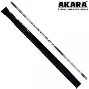 Удилище телескоп угольное д/с Akara Crystal Pole б/к