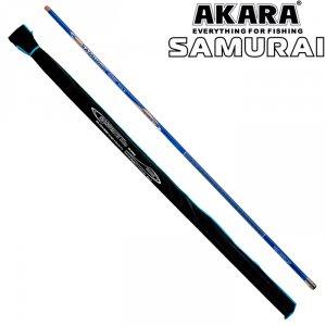 Удилище телескоп угольное д/с Akara Samurai IM9 б/к