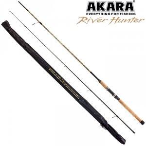 Спиннинг штекерный угольный 2 колена Akara River Hunter M