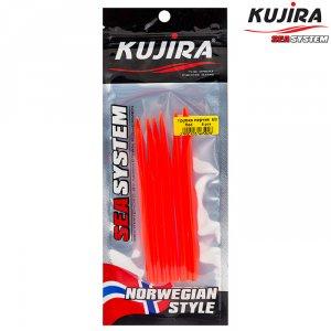 Трубка перчик Kujira G-Makk для крючков 12/0 Red (5 шт)